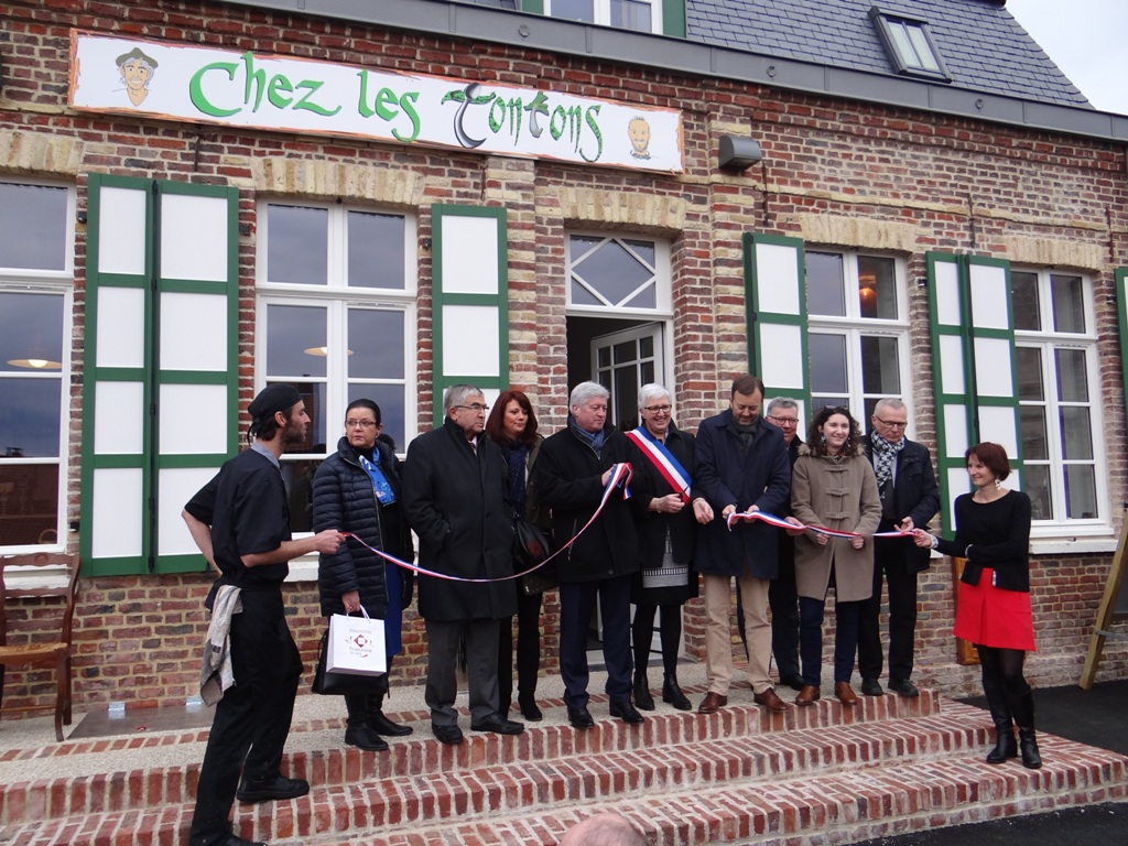 Inauguration Estaminet