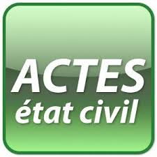 Acte etat civil