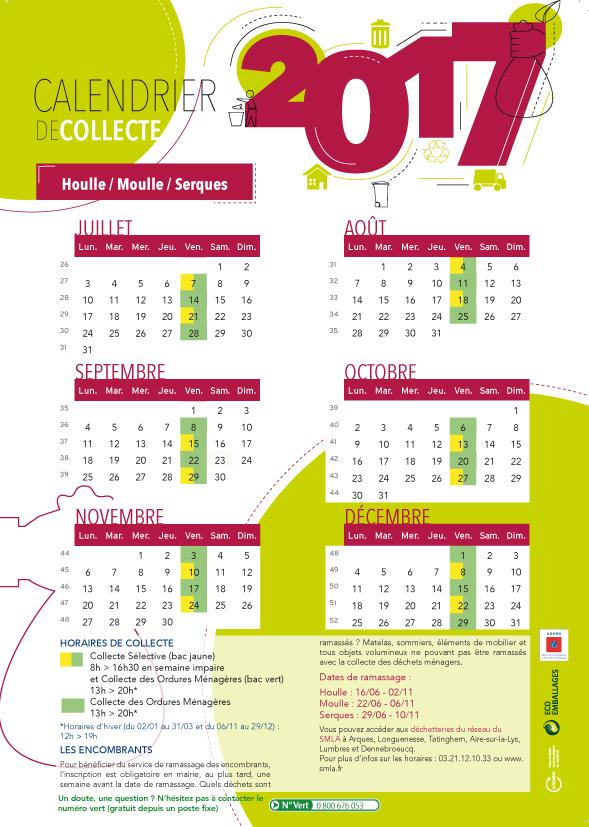 Calendrier houlle moulle serques 2