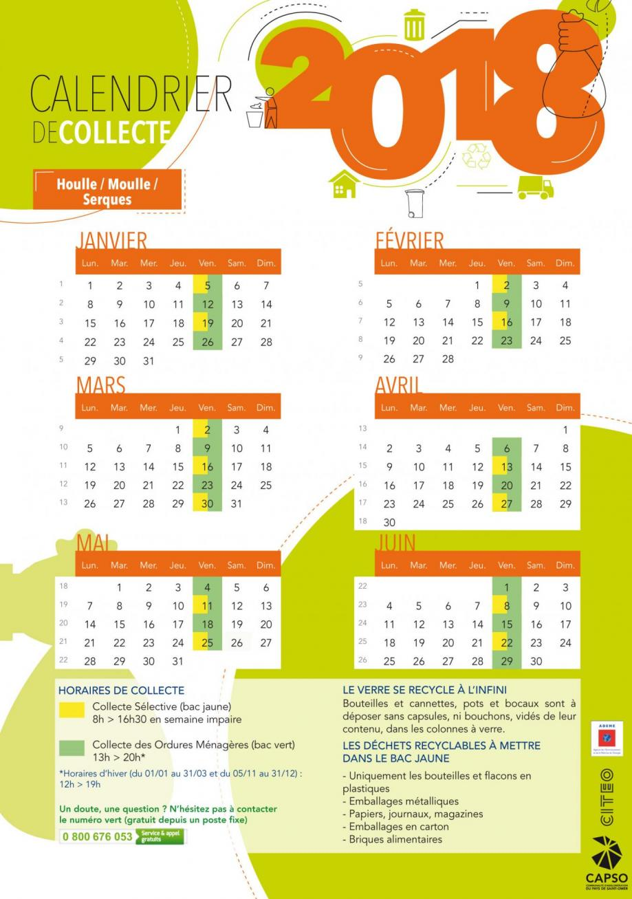 Calendrier houlle moulle serques 2018 1