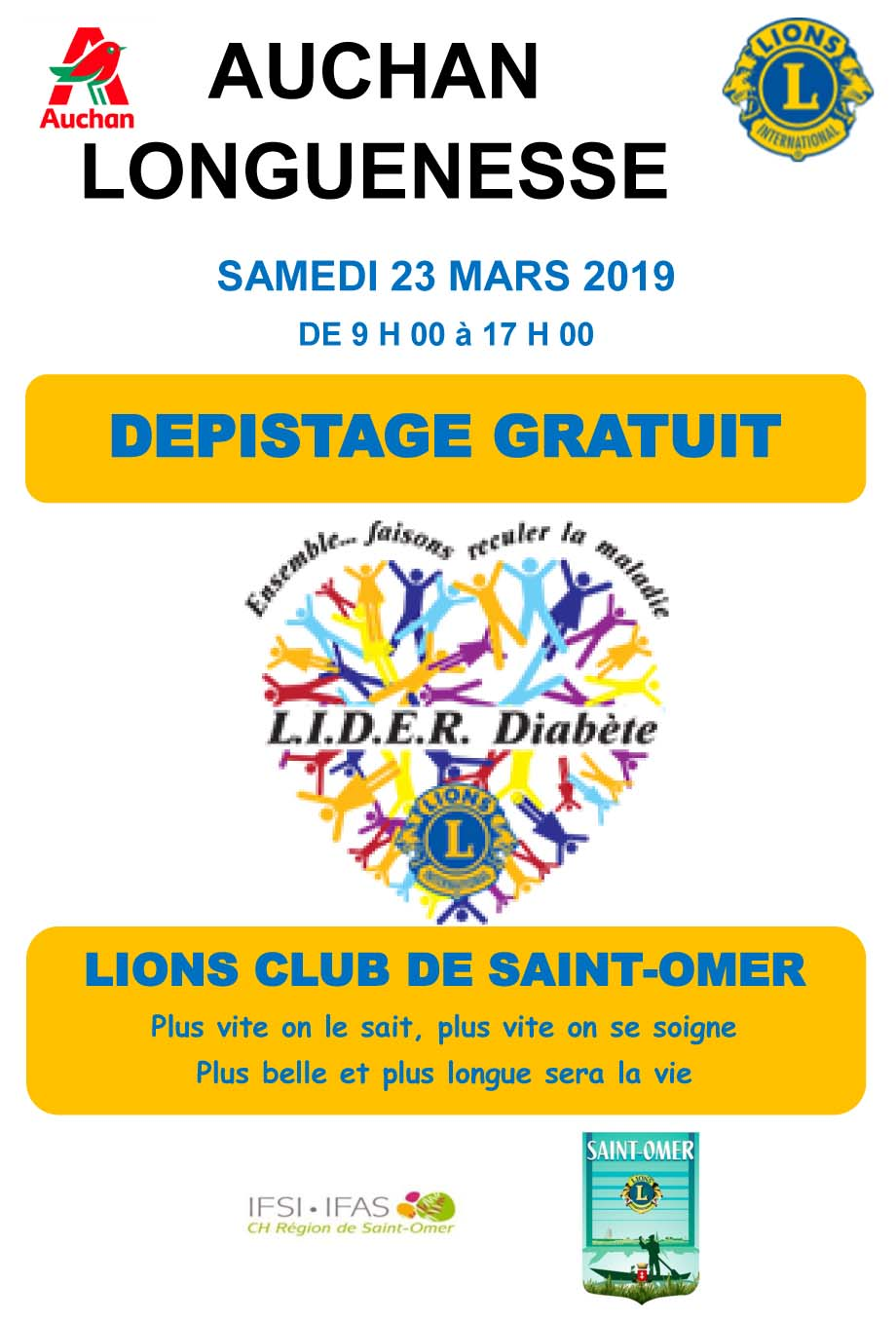 Depistage diabete lc st omer