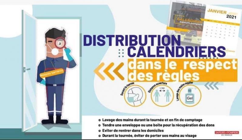 Distribution des calendriers