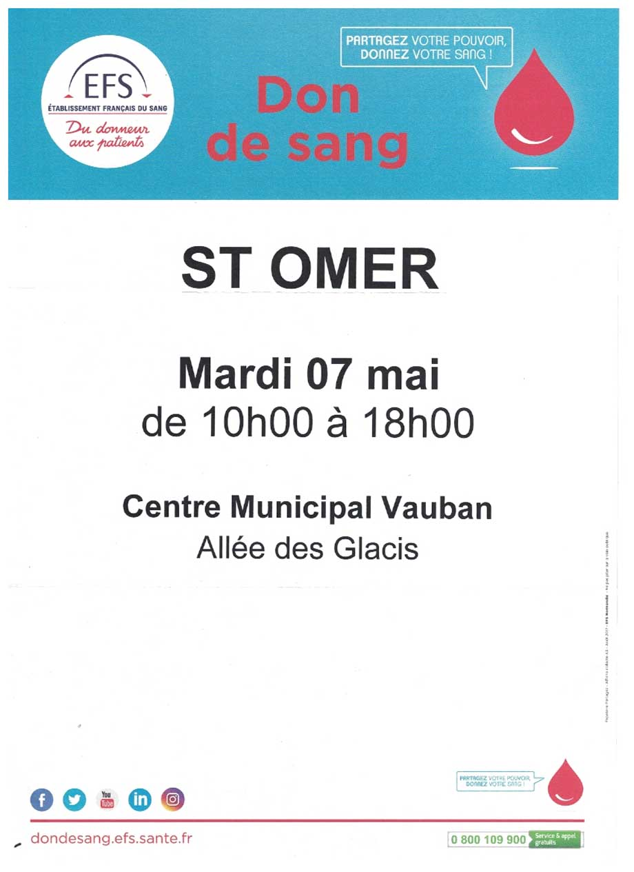 Don de sang saint omer 2