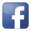 Facebook box blue icon