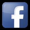 Facebook box blue icon