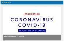 Le point sur le coronavirus 1