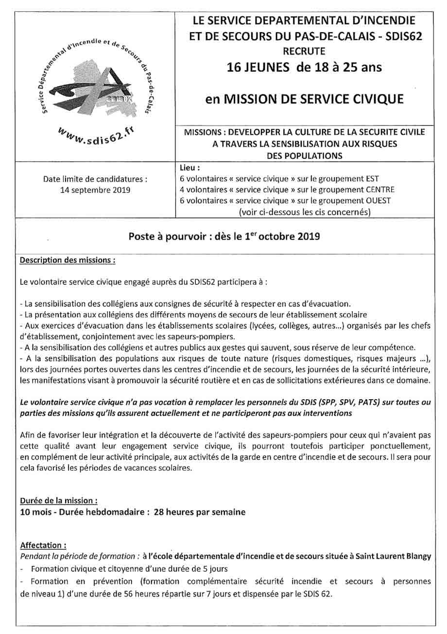 Service civique 1